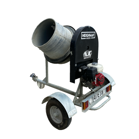 Heighway Towable Petrol Concrete Mixer