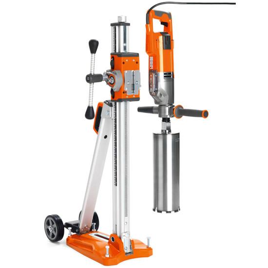 Husqvarna DM220 Core Drill on Stand
