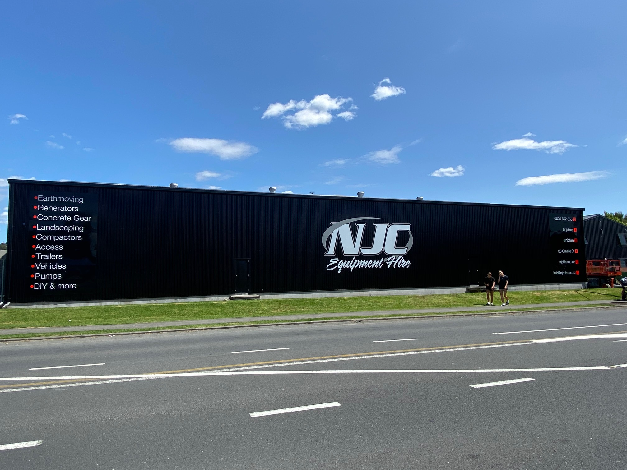 NJC Equipment Hire Building