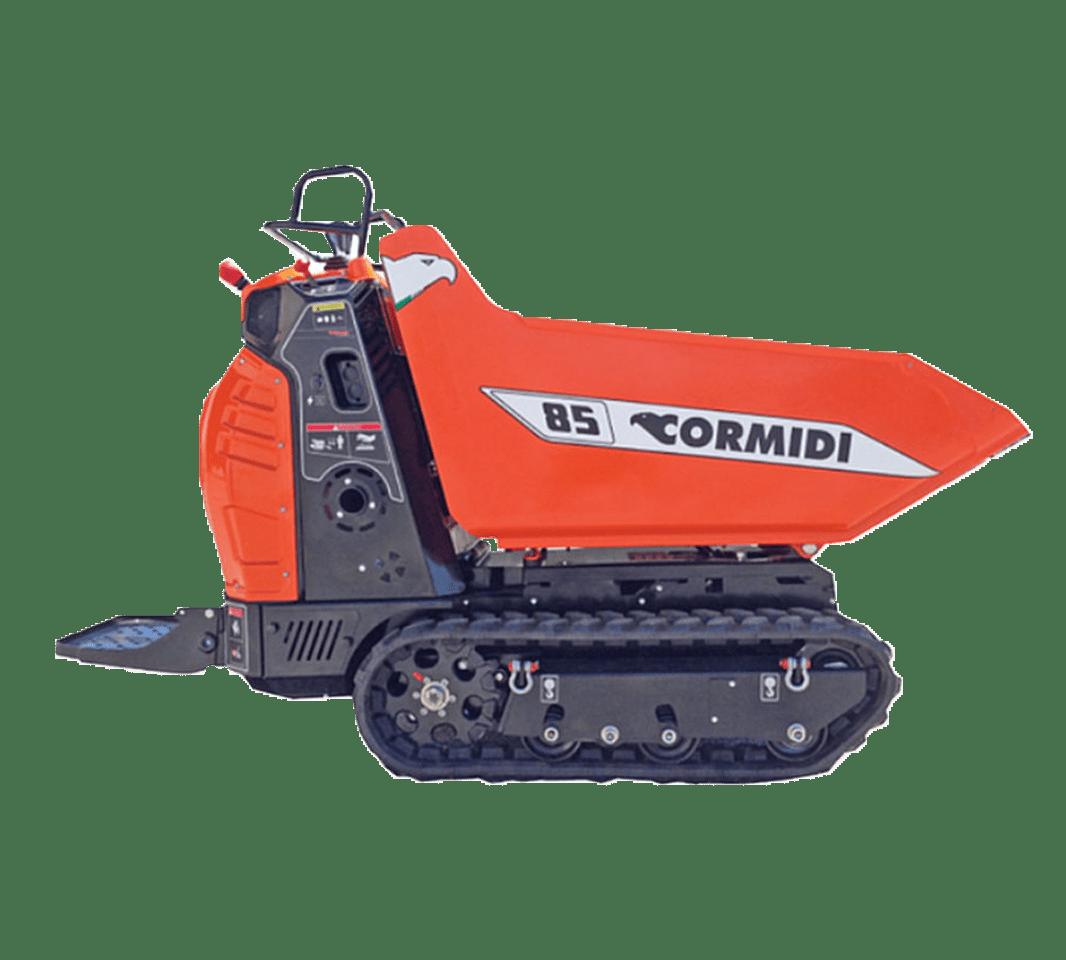 NJC Hire Cormidi C85 Tracked Pedestrian Dumper