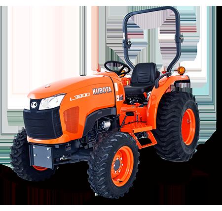 NJC Hire Kubota L3800 Tractor CC