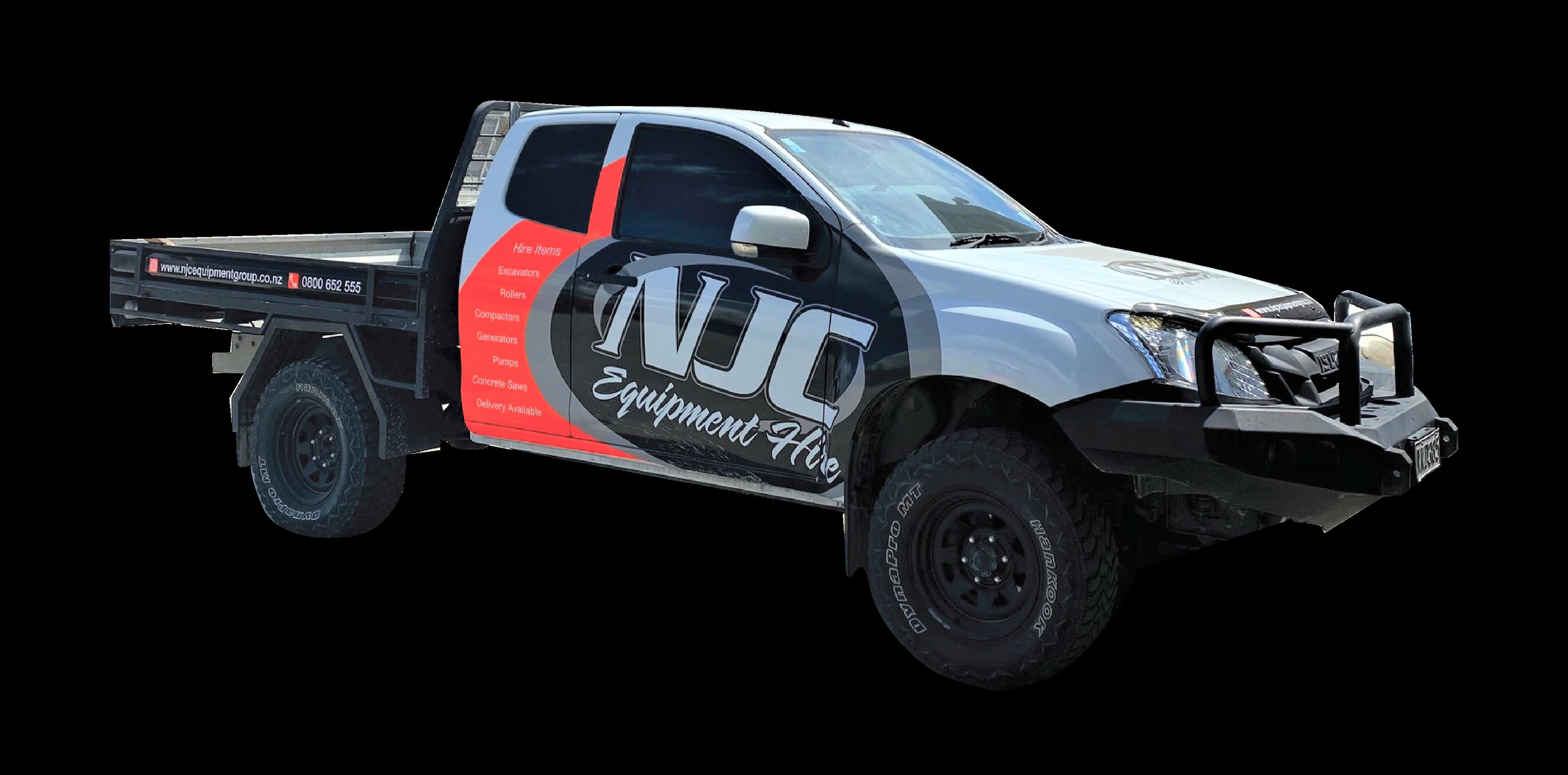 NJC Hire 4WD Flat Deck Ute