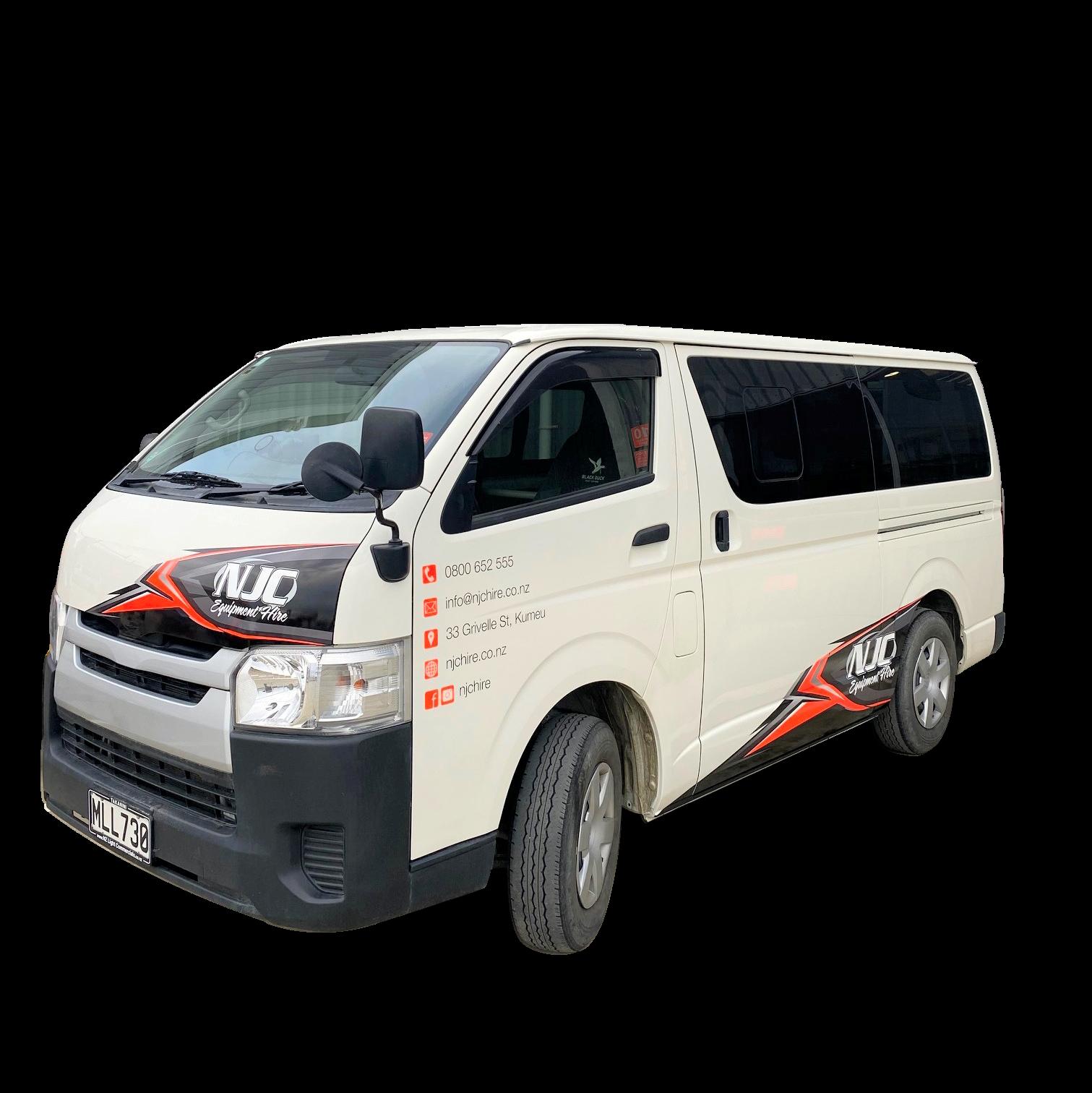 NJC Hire 4WD Van