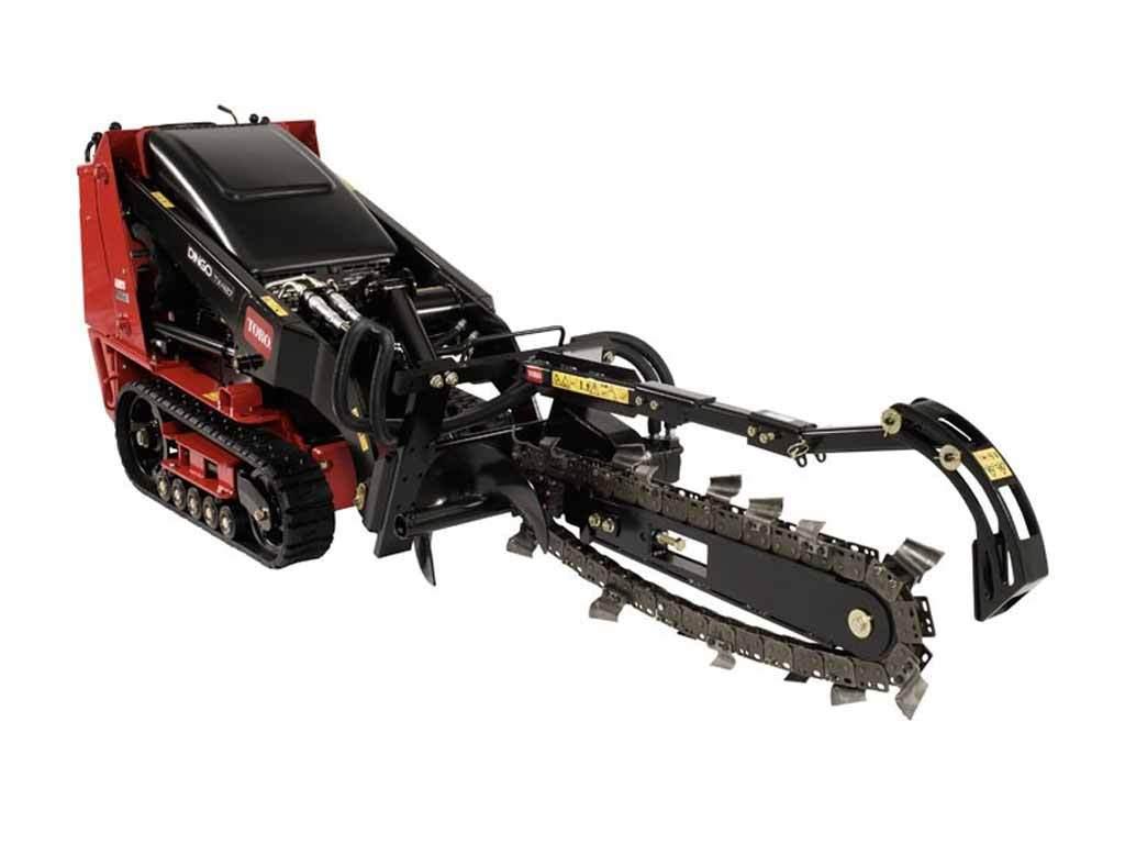 NJC Hire Toro Mini Loader Trencher Attachment